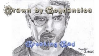 Silent Rider - DLZ (TV On The Radio Cover) Breaking Bad Drawing (Walter White/Jessie Pinkman)