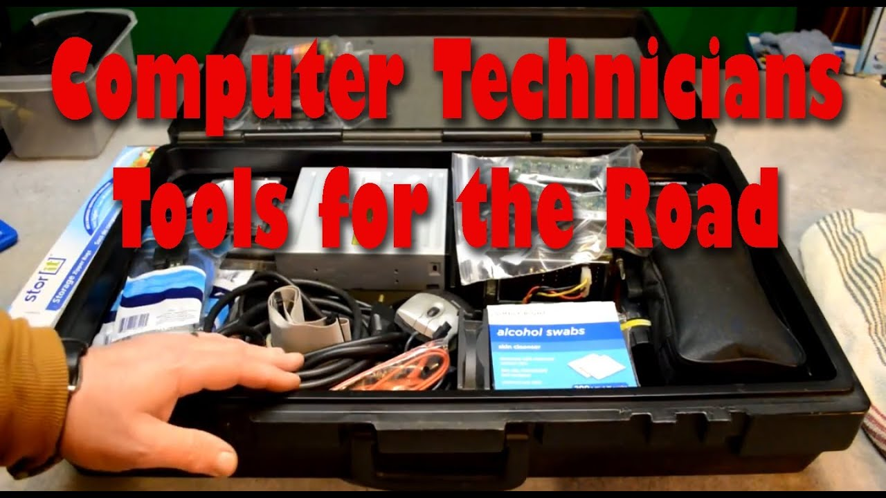 Computer Technicians Tools For The Road Youtube