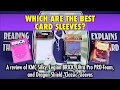 Which Are The Best Card Sleeves? KMC Silky, PRO-Team and more for Magic The Gathering and Pokemon