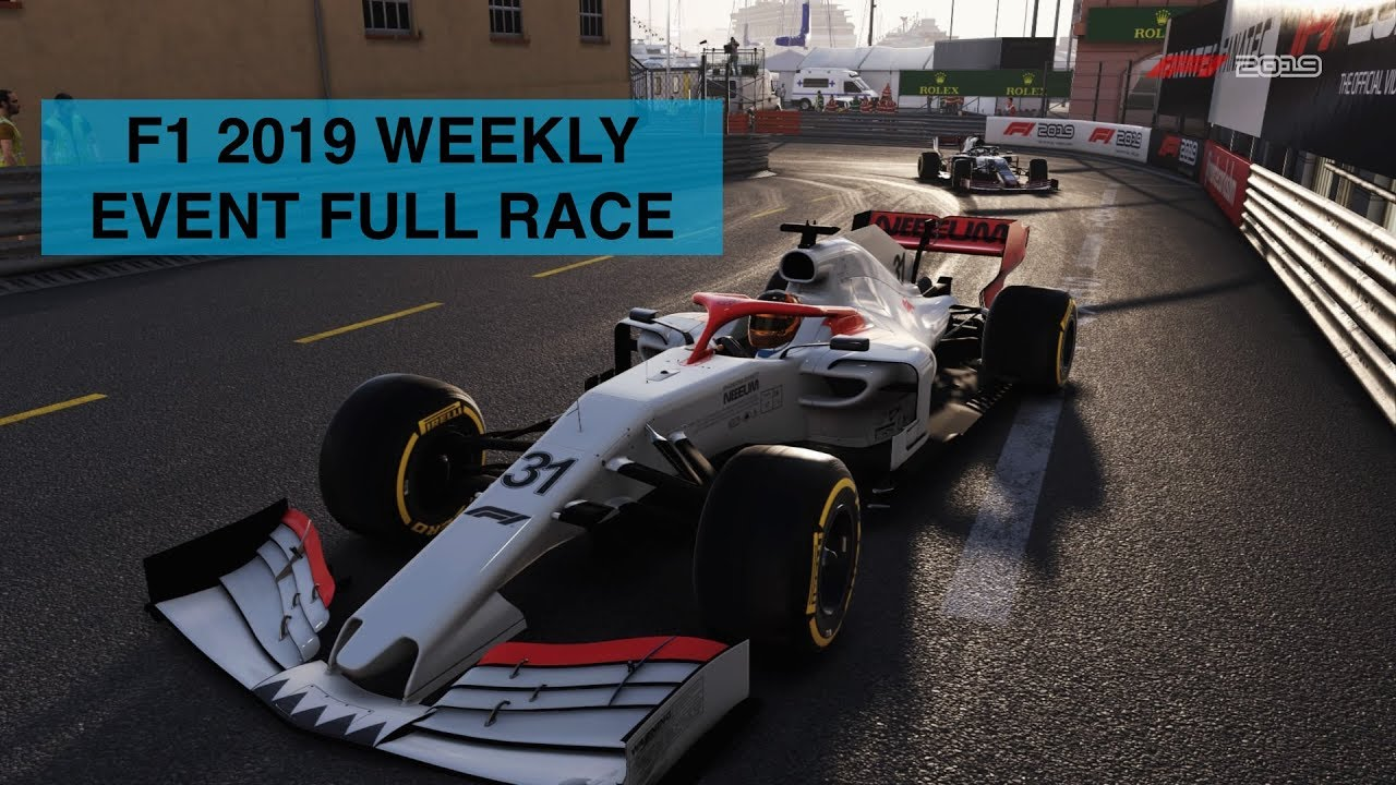 Monaco Grand Prix Weekly Event Full Race | F1 2019 - YouTube