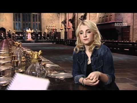Evanna Lynch Interview (FULL) - PlayStation Access TV @ Harry Potter Studio Tour