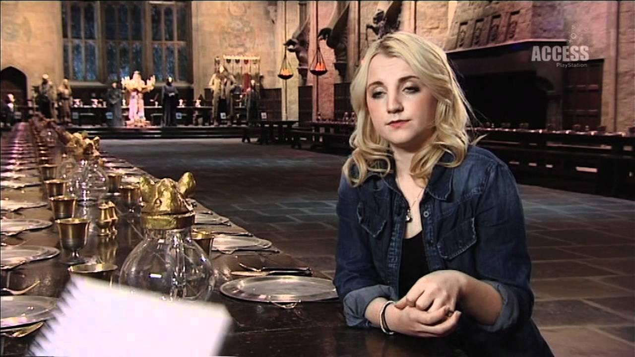 Evanna Lynch Interview Full - Playstation Access Tv -5754