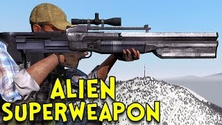 Repeat youtube video ALIEN SUPERWEAPON! - Arma 2: DayZ Mod - Ep.19
