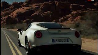 Alfa romeo 4C 2013 - test drive