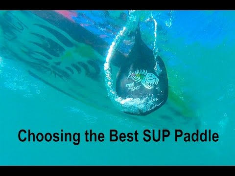 SUP Paddles- choosing the best with Blue Planet