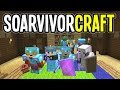 SoarvivorCraft - WOODLAND MANSION RAID - Minecraft Multiplayer - Ep. 8