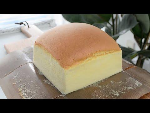 Jiggly Fluffy Taiwanese Castella Sponge Cake - B nh B ng Lan Castella