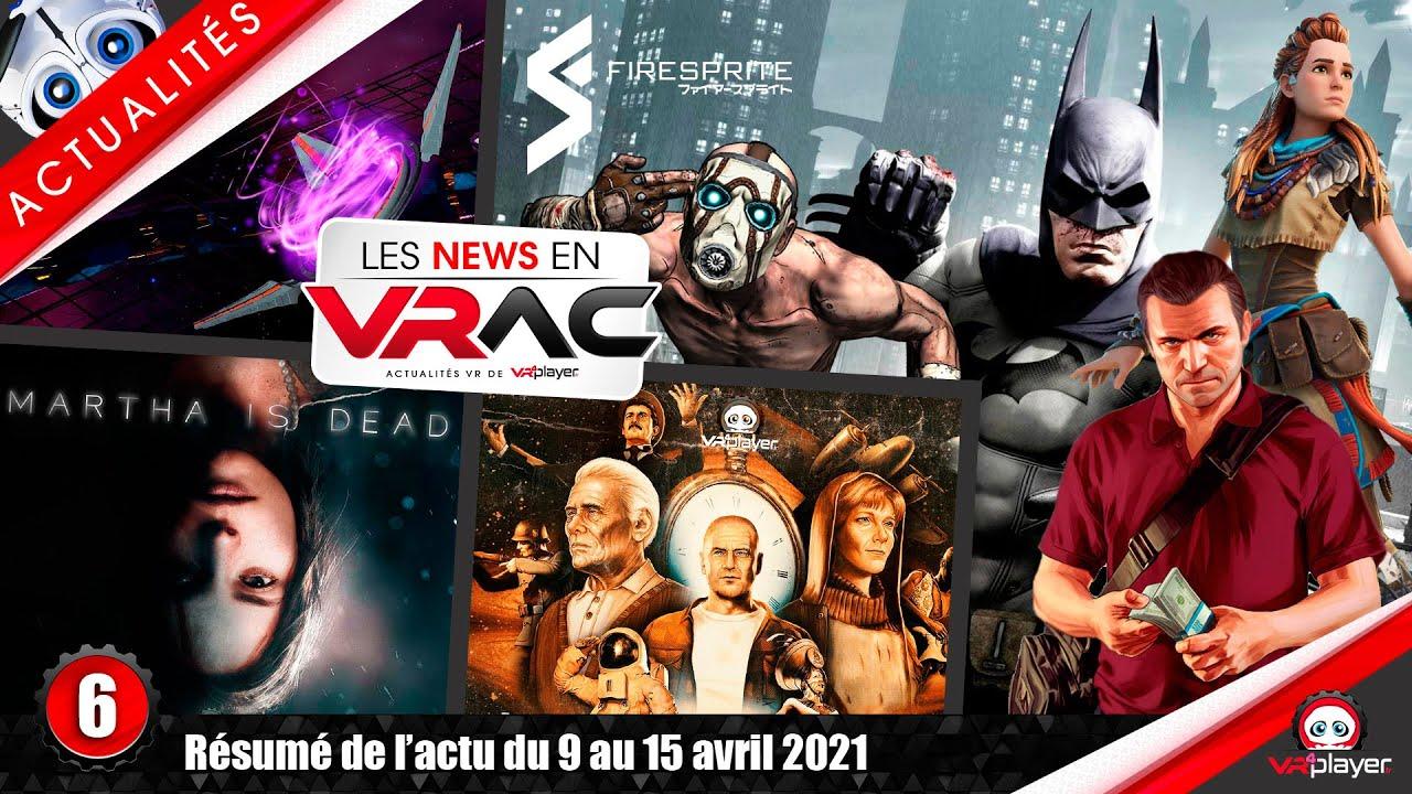 News VR PSVR PlayStation VR : Wanderer, Martha is dead, Straylight, Firesprite AAA VR   News en VRac