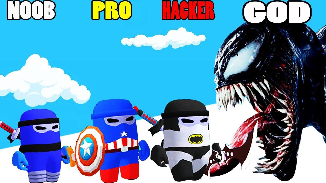 Download NOOB vs PRO vs HACKER vs GOD in Alien Kill