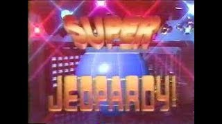 SUPER JEOPARDY! Show 5: Saturday, July 14, 1990