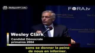 Le Général Wesley Clark clash KERRY, HOLLANDE et FABIUS sur la SYRIE