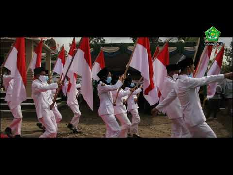 Kirab Pelepasan Bendera Pataka di Kabupaten Lombok Tengah Oleh Kakanwil Kemenag NTB