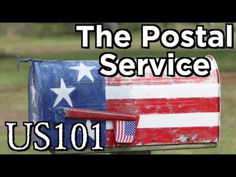 How The Postal Service Connected America - US 101