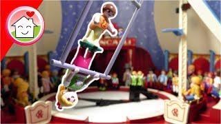 Playmobil Film deutsch - Anna und Lena machen Zirkus - Familie Hauser Spielzeug Kinderfilm