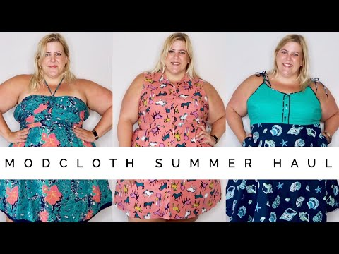 Modcloth Plus Size Haul + Try On Summer 2017
