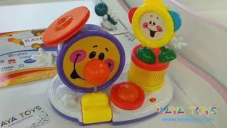 Бебешка играчка Барабанче със звук и светлини | RAYA TOYS