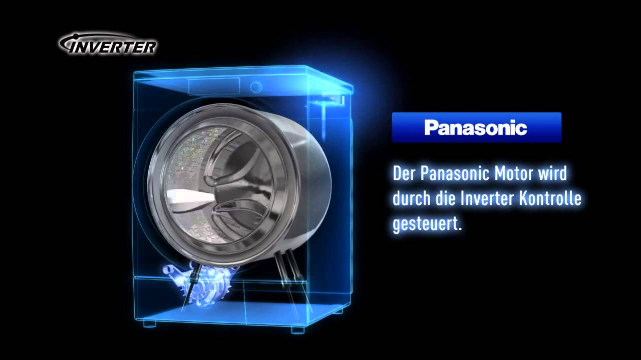 panasonic waschmaschinen inverter motor youtube. Black Bedroom Furniture Sets. Home Design Ideas