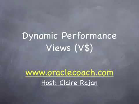 oracle-administration-=-dynamic-performance-views-theory
