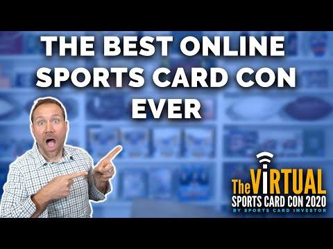 SNEAK PREVIEW & GIVEAWAYS: Virtual Sports Card Con Starts Wednesday!