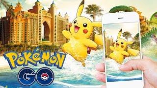 Pokemon GO   SUPER *MEGA* RARE POKEMON CATCHES IN DUBAI!