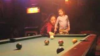 The training of a pool hustler