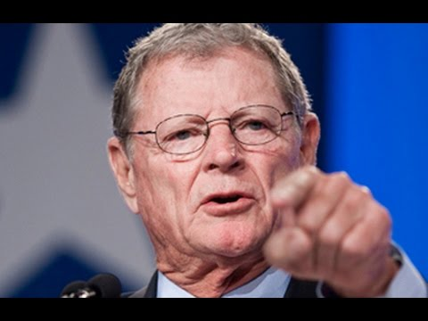 Jim Inhofe: Don't Fear Climate Change, Because God