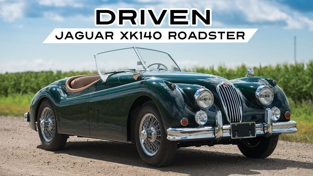 JAGUAR XK140 ROADSTER 1956   Test Drive In Top Gear   Engine Sound | SCC TV    YouTube
