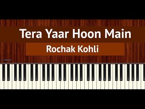 "How To Play ""Tera Yaar Hoon Main""   BollyPiano Tutorial"