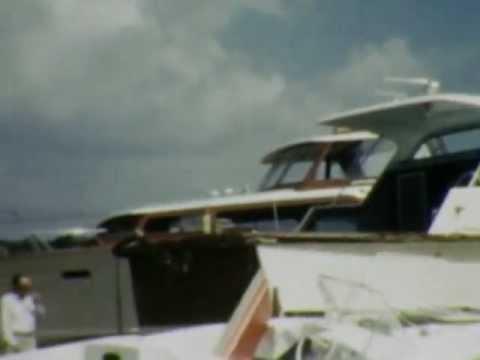 Damage from Hurricane Carla, September 1961