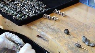 Gümüş yüzük üretimi yapımı -- Atölye Silver Sez