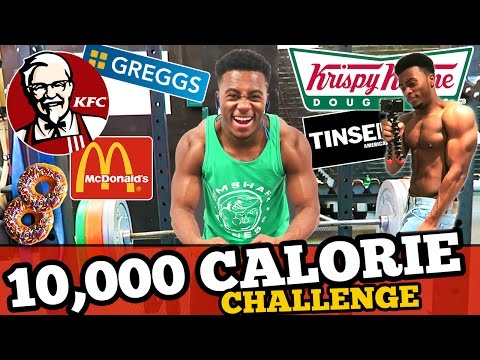 10K Calorie Challenge! | Full Day of Eating | Epic Cheat Day!