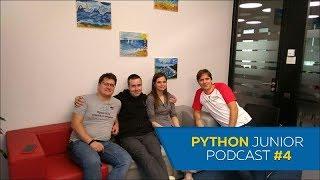 Python Junior подкаст. Выпуск #4 | Python для веб-разработки - что нужно знать и как развиваться