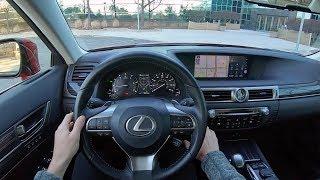 2018 Lexus GS 350 AWD - POV Test Drive (Binaural Audio)