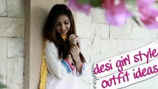 Desi Girl Style Indian Fashion Look Book With Masala Chai And Iktara