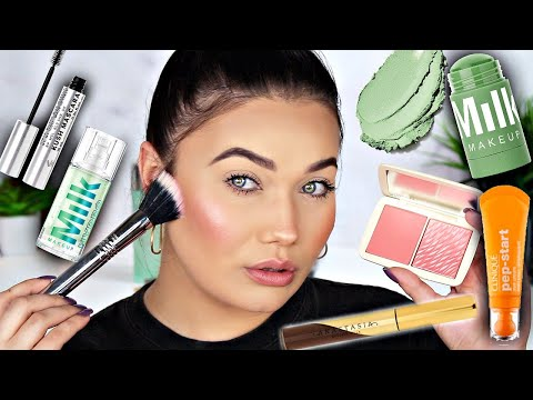 SEPHORA Try On Haul | MILK Makeup - Cover FX - Anastasia Beverly Hills
