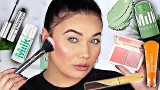 SEPHORA Try On Haul   MILK Makeup - Cover FX - Anastasia Beverly Hills