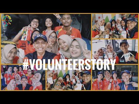 NgeVlog Bareng Volunteer Asian Games Berbagai Divisi By Mad Zifai #VolunteerStory :)