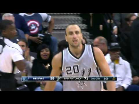 Memphis Grizzlies vs San Antonio Spurs | November 21, 2015 | NBA 2015-16 Season