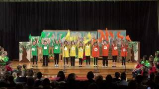 "Indian Hill Primary School. 2nd Grade Musical. 2-9-12. ""How Does Your Garden Groove?"""