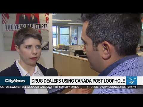 Drug dealers using Canada Post loophole