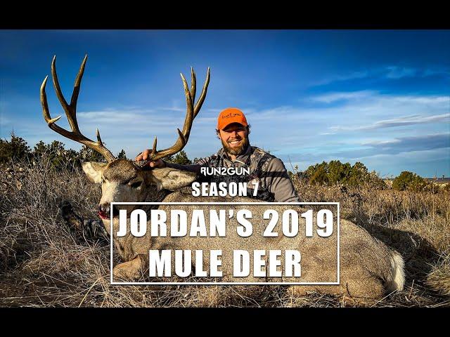 Jordan's 2019 Mule Deer