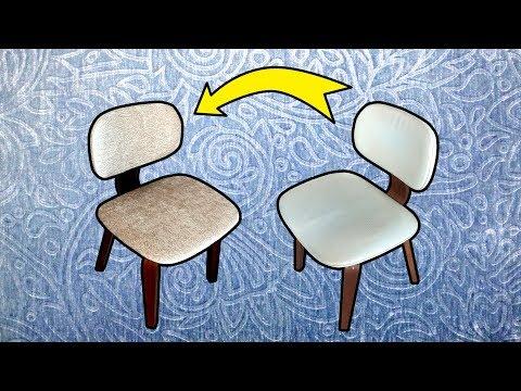 DIY: Reupholstering Dining Chair