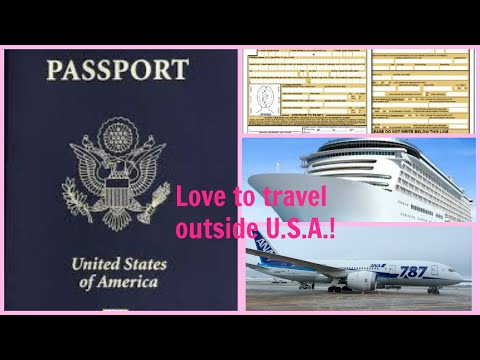 HOW TO APPLY U.S PASSPORT NEW APPLICATION FORM | POST OFFICE 2018-2019