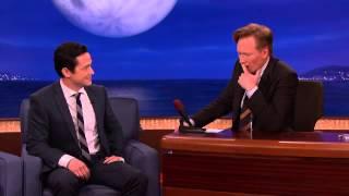 Joseph Gordon Levitt Torture Tests Conan's Coffee Table