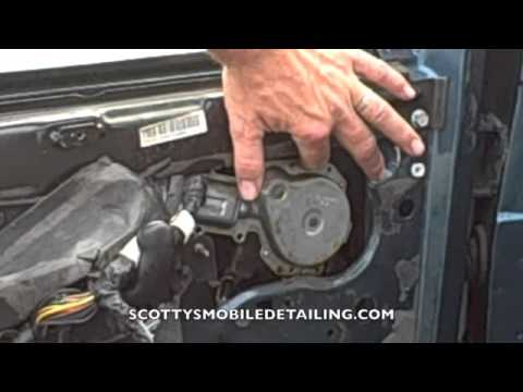 How To Replace A Window Motor On A Astrovan Youtube