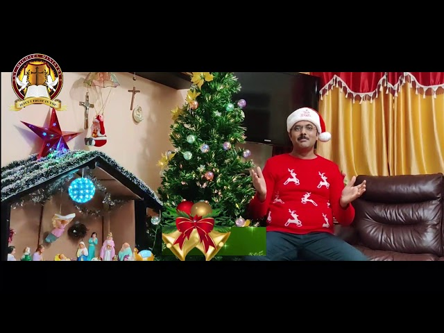 Christmas Message 2020 by Shiju Thomas