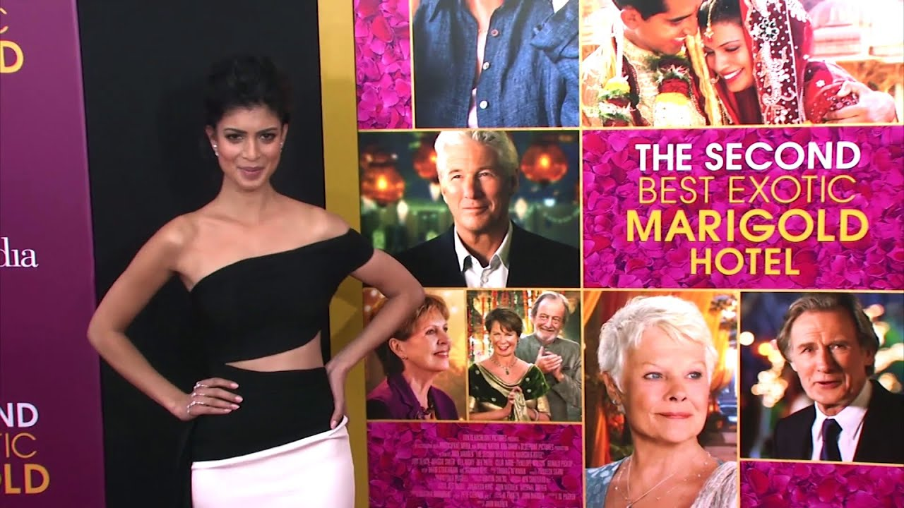 Download 'The Second Best Exotic Marigold Hotel' New York Premiere