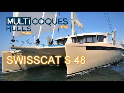 Preview of our test onboard the SwissCat S48 catamaran