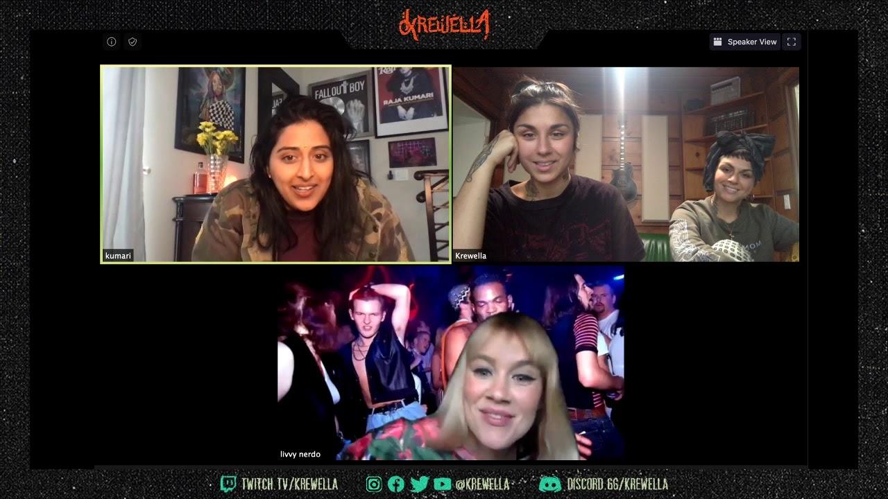 'GODDESS' chat with Krewella & Raja Kumari
