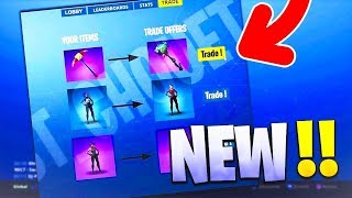 ' NEW ' ECHANGER e oferecer SKINS no FORTNITE: Battle Royale!! Cheat